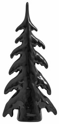 Ceramic Christmas tree M Black