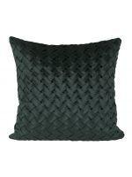 Cushion Cover Twine 45x45 Green