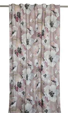 Ella Curtainset 135x250 Rose