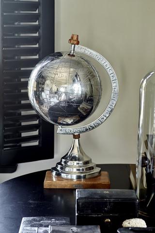 Globe Statue