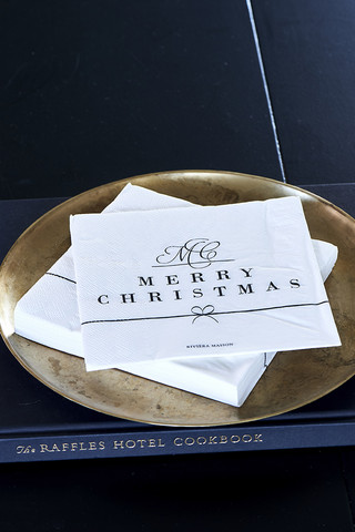 Paper Napkin Merry Christmas
