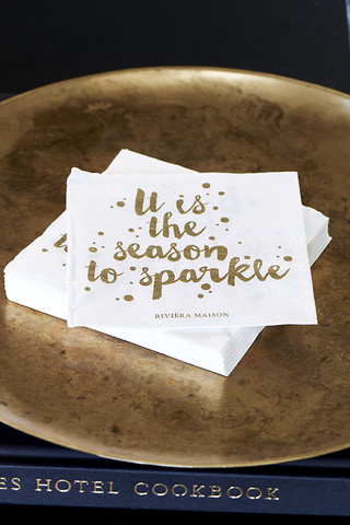 Paper Napkin RM Season To Sparkle