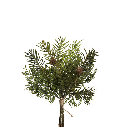 Pine branch bundle 25cm