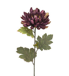 Chrysanthemum 68cm Purple