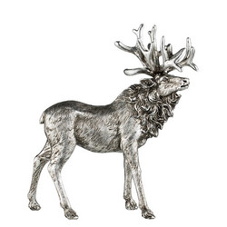 Serafina Raindeer Antique silver 32