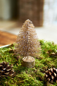 Aspen Decoration Christmas Tree gold Antique