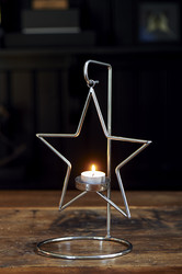 Christmas Hanging Star Votive