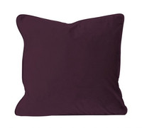 Elise Velvet Cushion Cover Red wine 45x45
