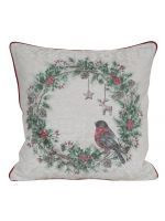 Christmas wreath Pillow cover 45x45