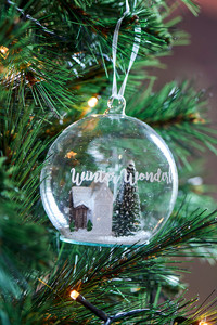 Winter Wonderland Ornament Dia 10