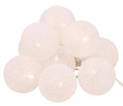DECORLIGHT LED 10-balls White