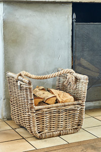 RR Fire Log Basket