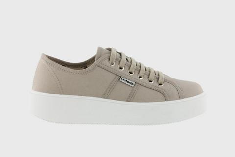 Utopia Canvas Sneaker Beige
