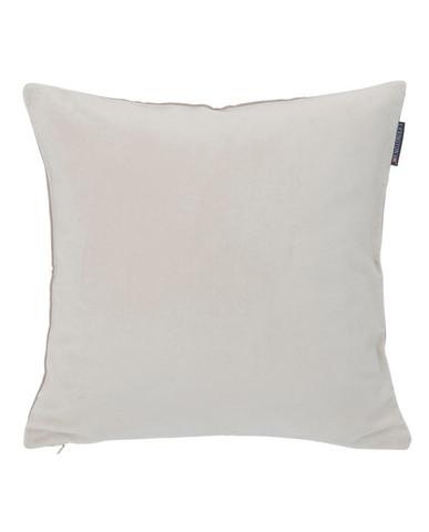 Cotton Velvet Sham 50x50 Cream