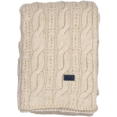 Chunky Cabel Knit Throw