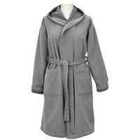 Flat Stripe Robe Grey