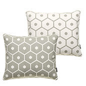 Honey cushion Warm Grey 40x50