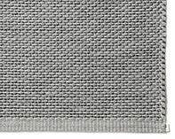 EKO Cotton paper string mat Grey-Black
