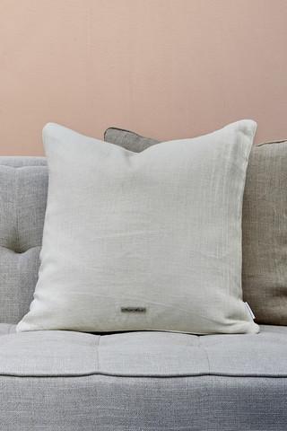 Lovely Linen Pillow case eggshell 50x50