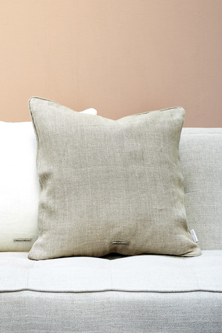 Lovely Linen Pillow case Natural 50x50