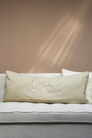 Serene Island Pillow Cover 120x50
