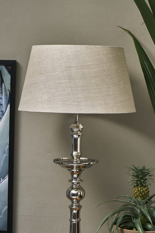Loveable Linen Lampshade Natural 35x45