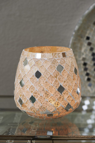 Magic Mosaic Votive white M