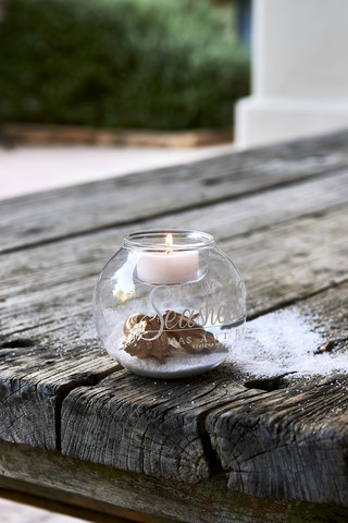 Seashell Fillable Votive
