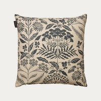 Midsummer Cushion Cover Dark Charcoal Grey 50x50