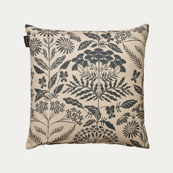 Midsummer Cushion Cover Dark Charcoal Grey 50x50