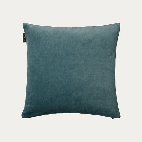 Paolo Cushion cover 50x50 Bright Grey Turquoise