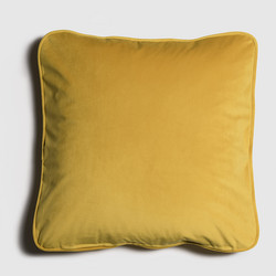 Melanie Cushion Yellow 50x50