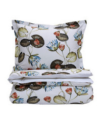 Water Lily Single Duvet 150x210 Multicolor
