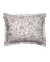 Croydon Flower Pillowcase 50x60 Dry sand