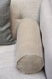 Lovely linen Roll P.Cov nat 50x20