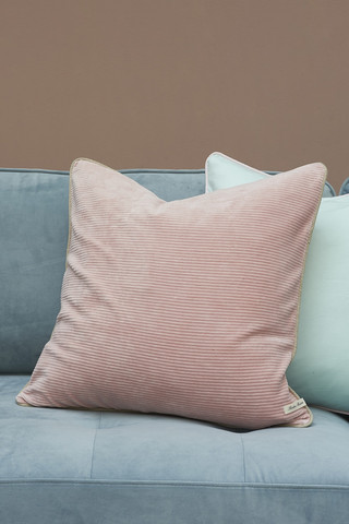 Palm Lane Terry Pillow cover pink 50x50