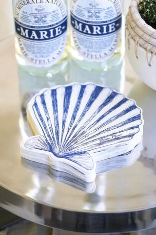Paper Napkin Happy Shell Shape