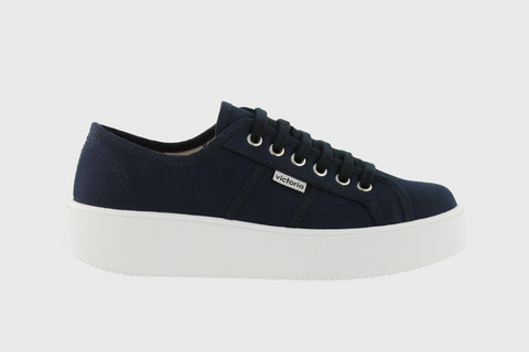 Utopia Canvas Sneaker Marino