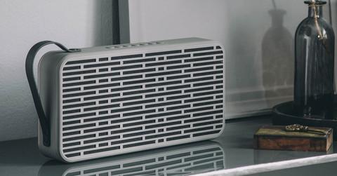 aSound Wireless Speaker Grey