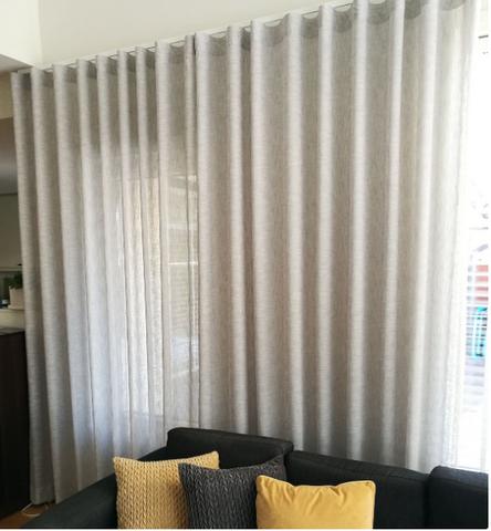 Smoke Curtain Light grey