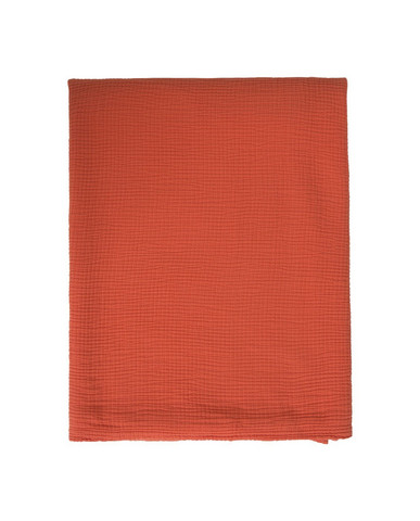 Cotton Bedspread Apricot