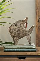 Rustic rattan tropical fish medium