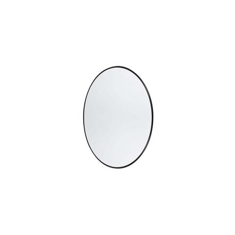 Wall mirror round Copenhagen Black XS
