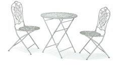 Orion Garden Furniture Set White