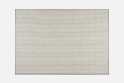 Meirami Carpet 80x200 White-Light grey