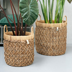 RR Diamond Weave Basket 2pcs