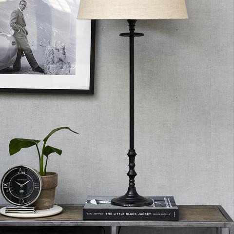 L'Hotel Lamp Base black L