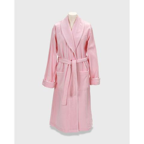 Premium Velour Robe Nantucet Pink