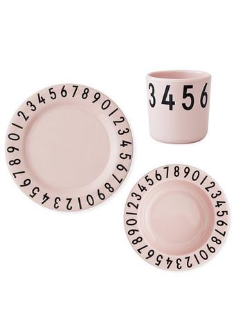 Melamine Number lahjapakkaus Vaaleanpunainen