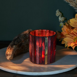 Burgundy Bliss Votive S